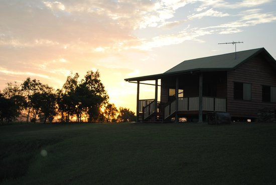 Henderson Park Farm Retreat:                   Sun set