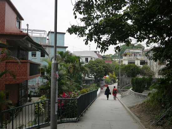 Lamma Island: village views