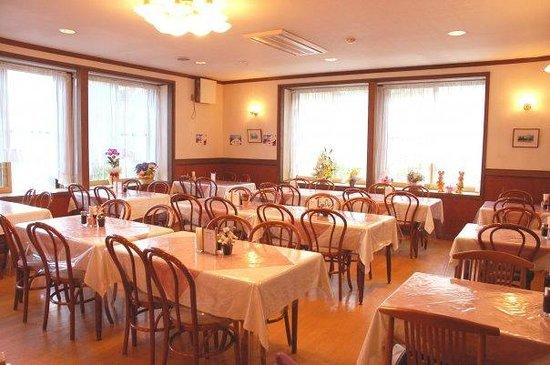 Hotel Montblanc Hakuba: Restaurant