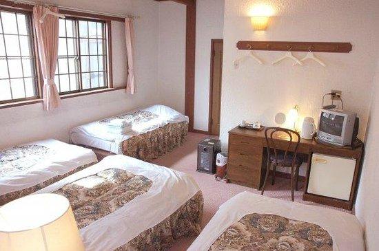 Hotel Montblanc Hakuba: 4 person room
