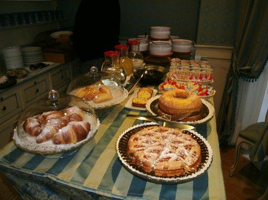 Villa Delle Palme: La salle du petit déjeuner