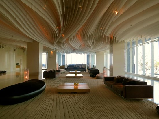 Hilton Pattaya:                   Hotel lobby on the 16th Floor