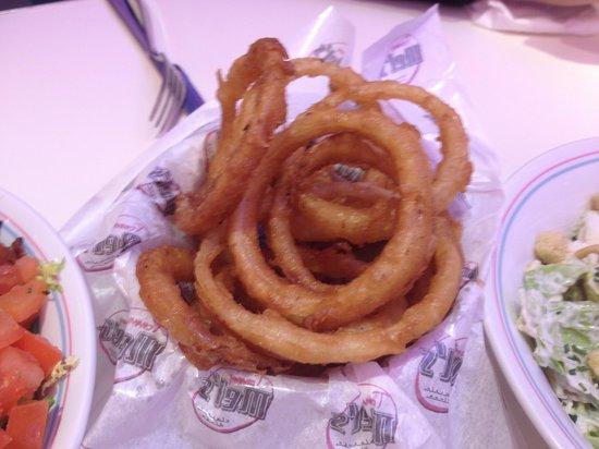 Tommy Mel's: Aros de cebolla