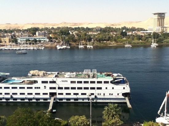 Memnon Hotel: vista desde la habitación