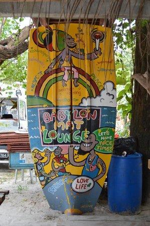 Babylon Mat Lounge: Board