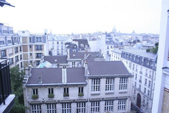 Citadines Saint-Germain-des-Pres Paris: View from our apartment