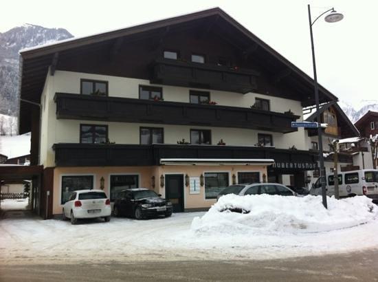 Hubertushof: front of hotel!