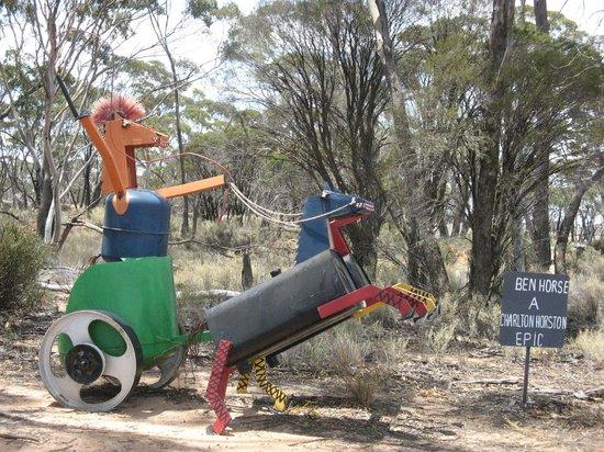 Kulin, ออสเตรเลีย: Ben Horse -A Charlton Horston Epic