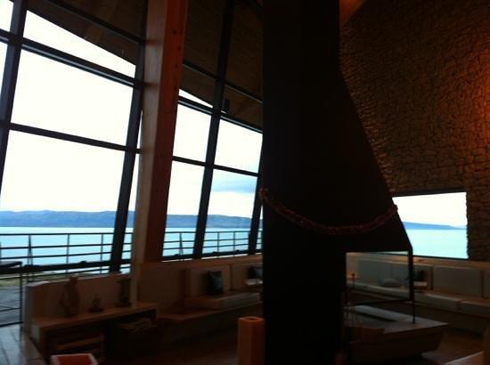 Design Suites Calafate: vue de l'intérieur