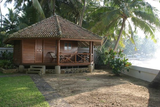 Rockside Cabanas Hotel:                   Sea view bungalo