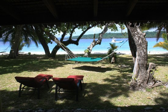 Bokissa Private Island Resort:                   View from fare' number 7.