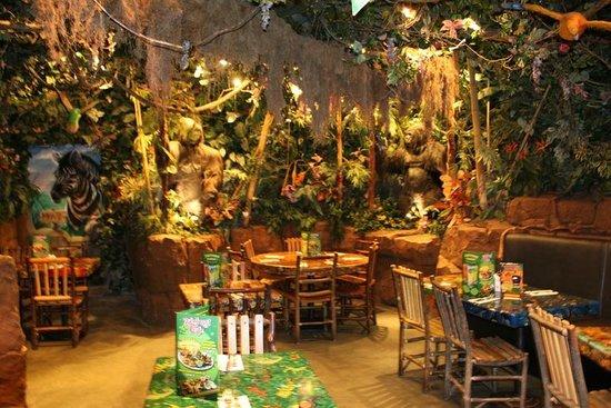 Rainforest Cafe France Menu
