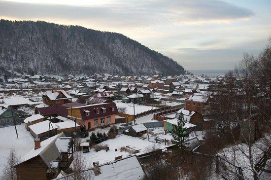 Baikalskye Terema: View from balcony - daytime