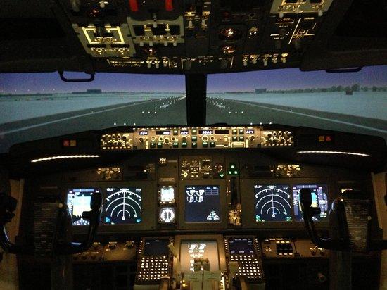Virtual Aviation:                   The simulator.