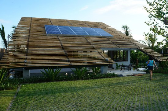 Komune Resort, Keramas Beach Bali:                   Reception area