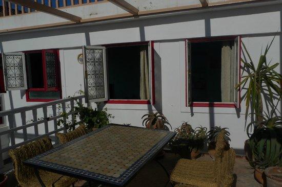 Riad Ocean Medina : Fenêtre de la chambre