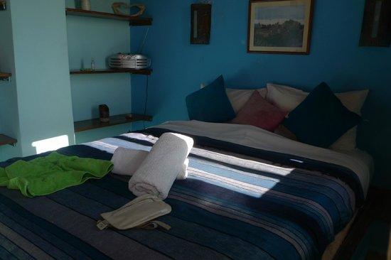 Riad Ocean Medina : La chambre de la terrasse
