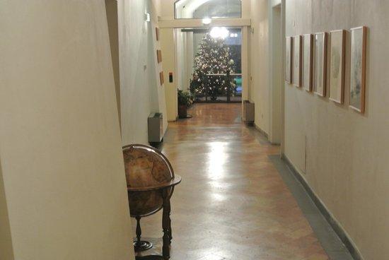 Hotel Tiferno : uno scorcio di hotel