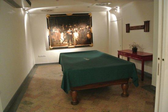 Hotel Tiferno: il biliardo