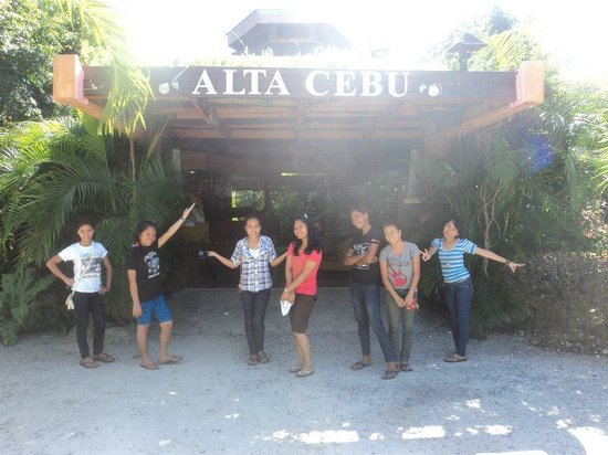 ALTA Cebu Resort:                   ....in front of alta cebu..