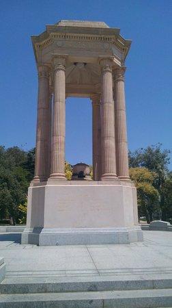 Caulfield Park: War memorial - detail