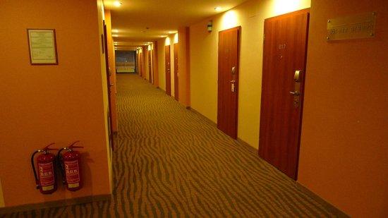 Hotel Thermal: Коридор отеля