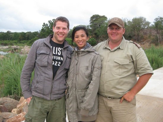 Kapama Southern Camp:                   with Ranger Richard