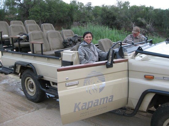 Kapama Southern Camp:                   sundowner