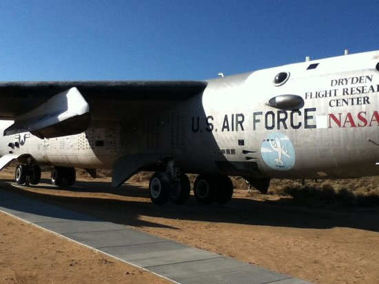 Edwards, CA: NASA B-52