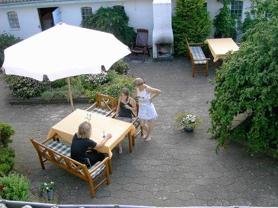 Nygaards Bed & Breakfast : Arial view