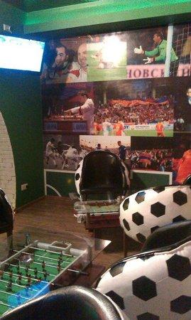 Hinchada Sport Bar: Sport corner