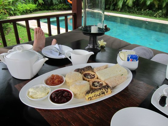 The Samaya Bali Ubud: Complimentary afternoon tea