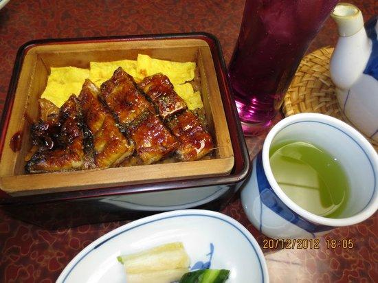 Chikae Fukuoka: eel on rice