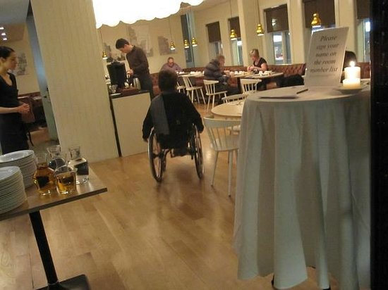 Hotel Reykjavik Centrum:                   Breakfast buffet served in adjoining restaurant