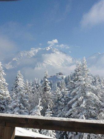 L'Ideal 1850: Le Mont Blanc depuis la salle