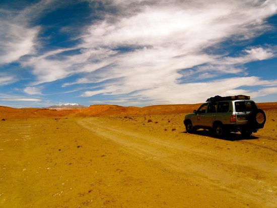 Morocco Sahara 4x4 - Day Tours: Road