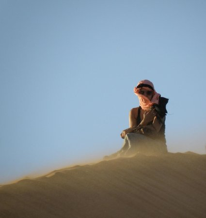 Morocco Sahara 4x4 - Day Tours: My wife
