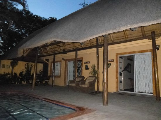 Sunbird Lodge:                   Rooms and Pool
