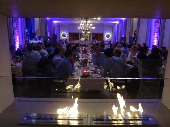 Kempinski Grand Hotel des Bains St. Moritz:                   Welcome Dinner