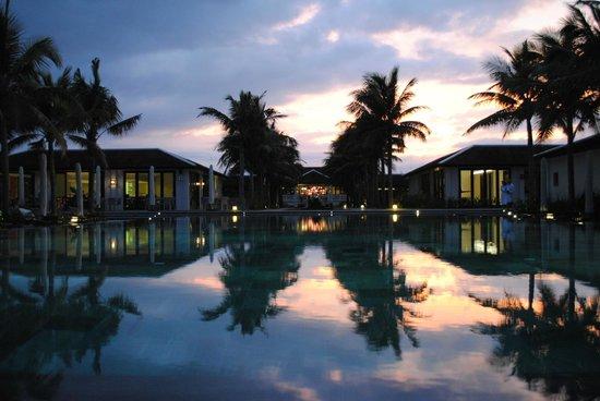 Fusion Maia Da Nang:                   View from the Beach