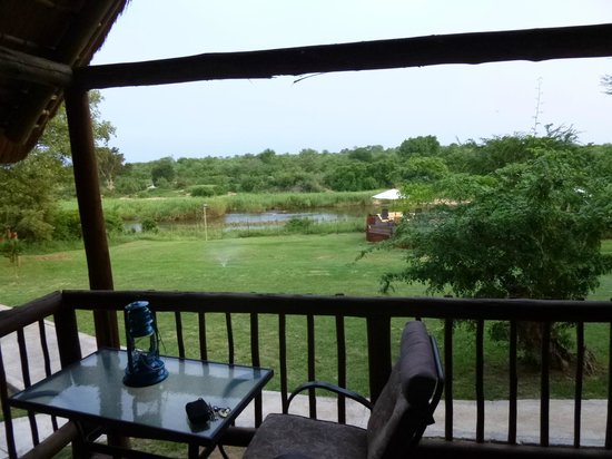 Sabie River Bush Lodge:                   View from our tent