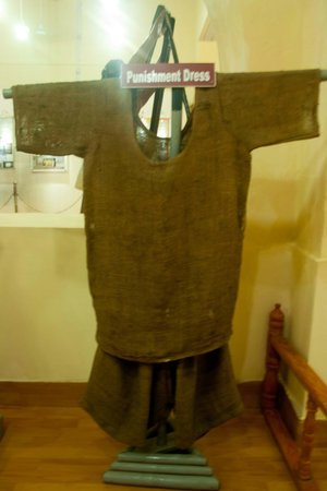 Punishment Dress Picture Of Cellular Jail Port Blair