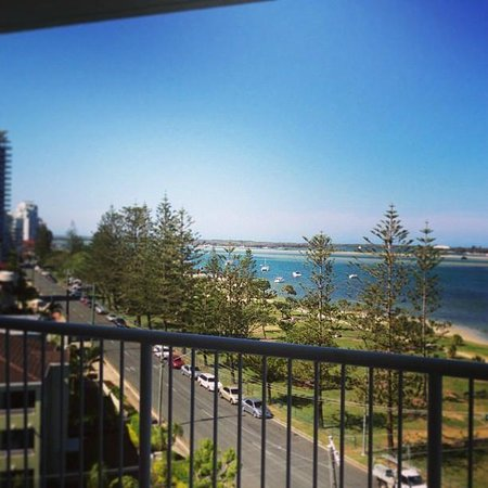 Crystal Bay on the Broadwater: Balcony view