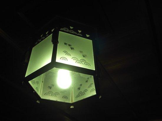 Hinjitsukan : 「千鳥の間」の照明