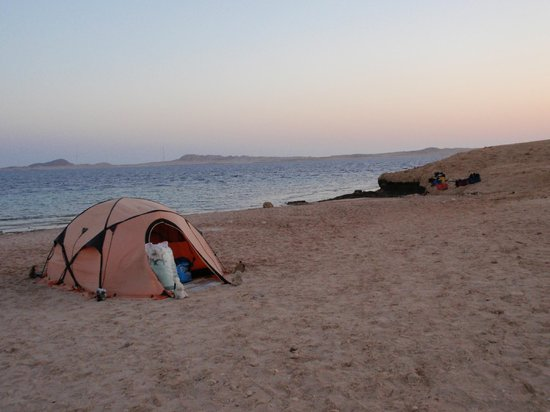 Dahab Divers South Sinai Hotel & Dive center: Campside with tents