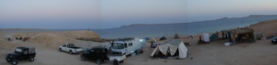 Dahab Divers South Sinai Hotel & Dive center: panoram of the hole camp