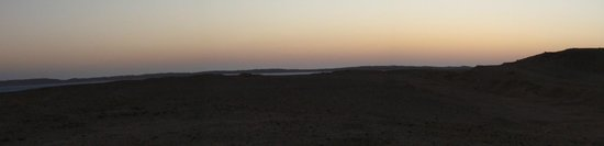 Dahab Divers South Sinai Hotel & Dive center: panorma with sundown