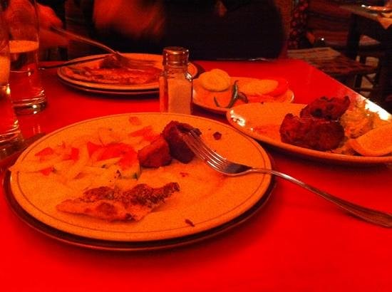 Ristorante India : capretto kabab