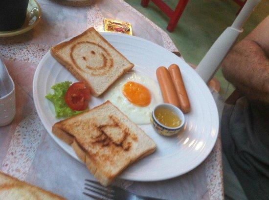 Khaosan Baan Thai: desayuno