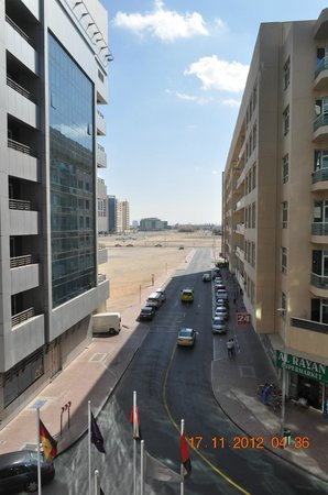 Al Barsha Hotel Apartments by Mondo:                   view from hotel
